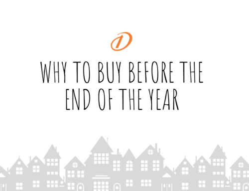 Why To Buy Before The End Of The Year