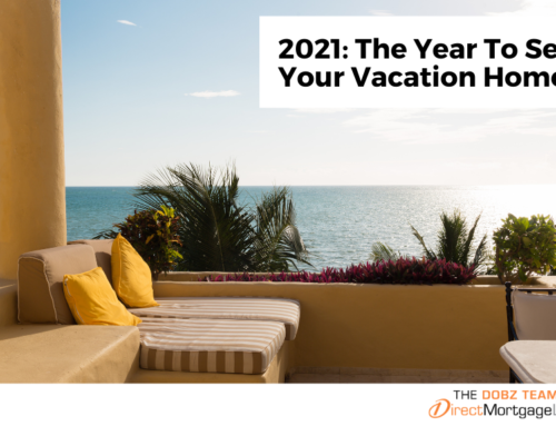 2021: The Year To Sell Your Vacation Home