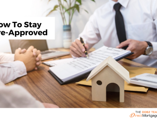 How To Stay Pre-Approved