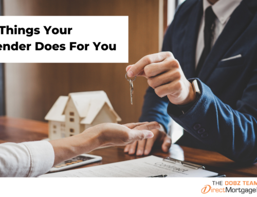 5 Things Your Lender Does For You
