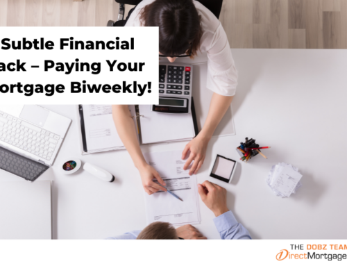 A Subtle Financial Hack – Paying Your Mortgage Biweekly!