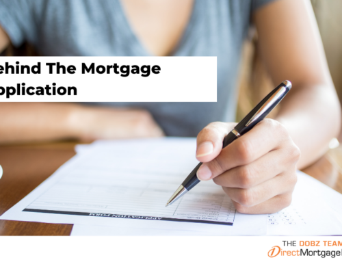 Behind The Mortgage Application